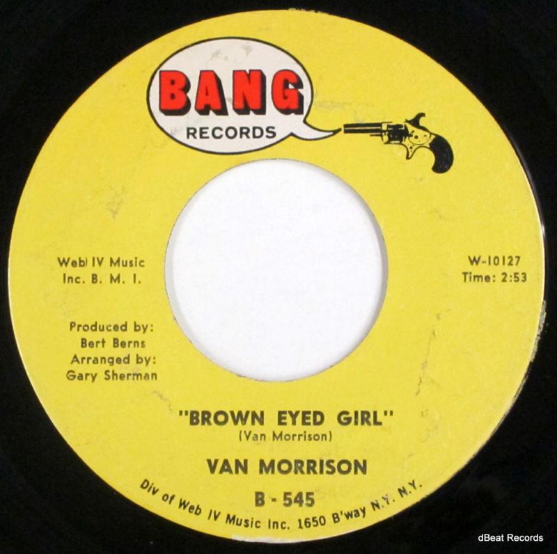 Brown eyed girl 45 by van morrison