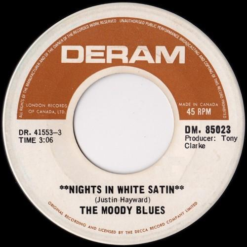 Nights in white satin 45 by the moody blues muskmellon s blog