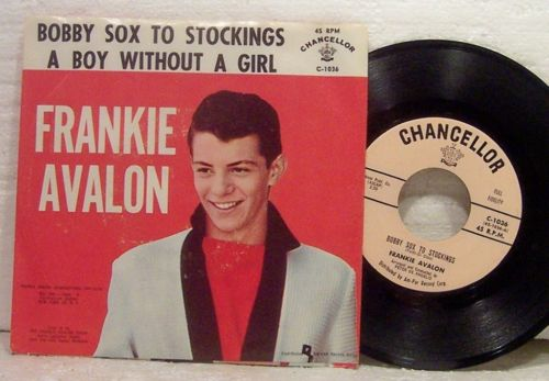 BOBBY SOX TO STOCKINGS CHORDS (ver 2) by Frankie Avalon ...