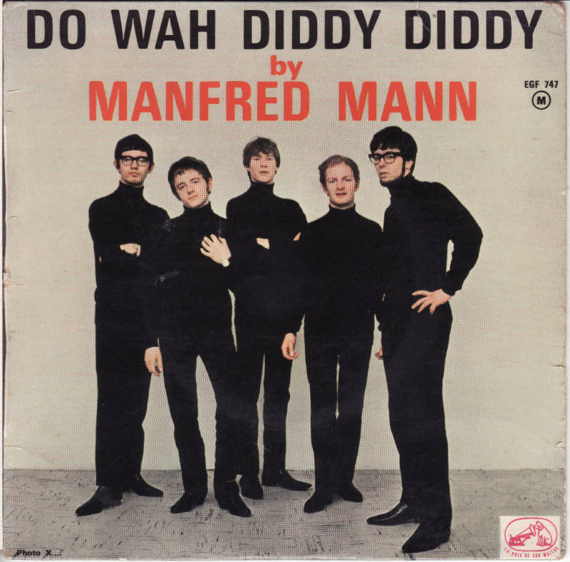 Do Wah Diddy Diddy 45 by Manfred Mann | Muskmellon's Blog
