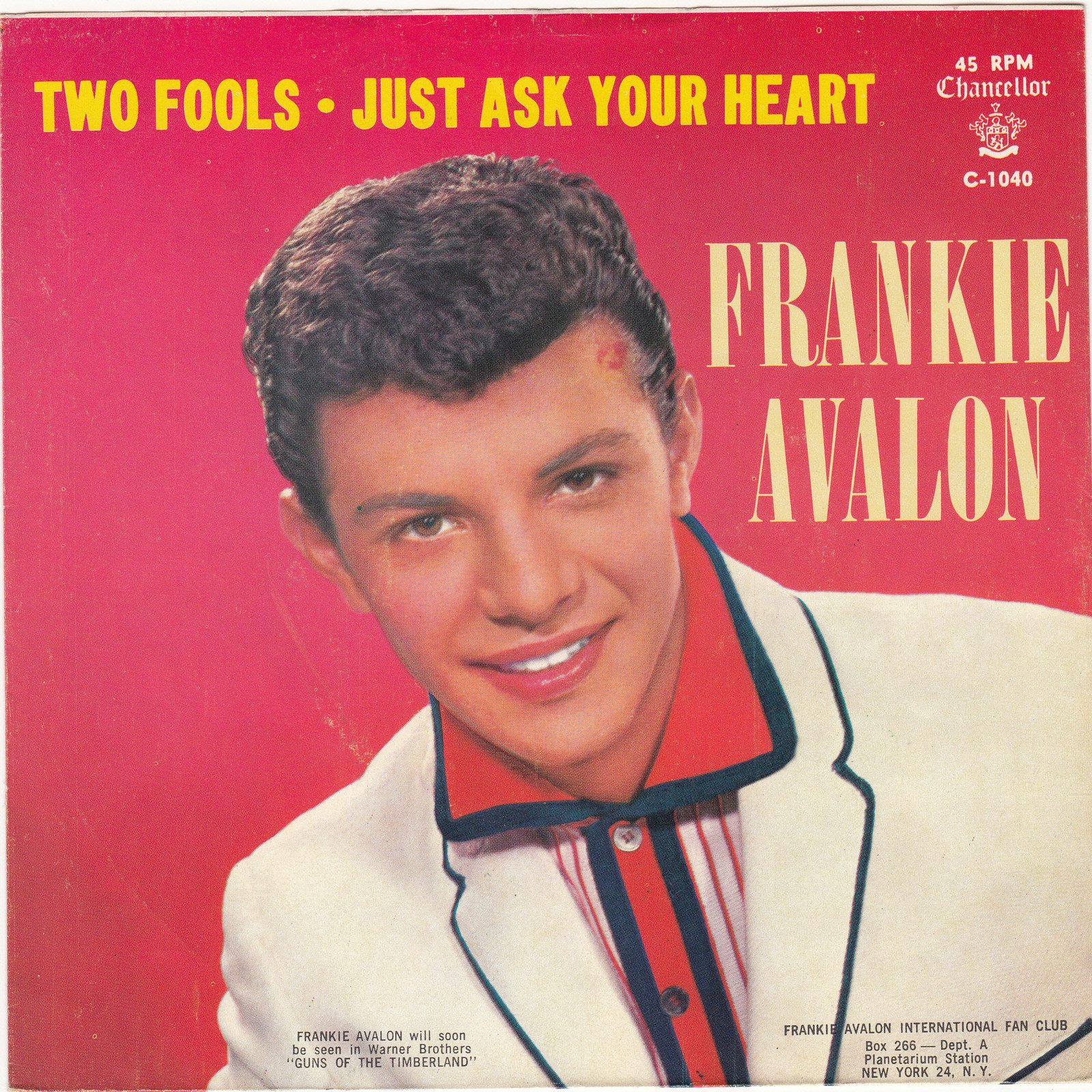 frankie avalon discography