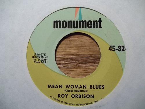Mean Woman Blues Mean woman blues/blue bayou 45