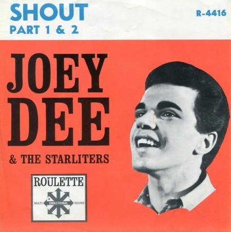 shout joey dee